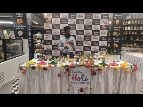 HaveAHealthyHoli with Mixologist Sourav Singh