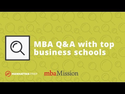 Q&A w/ Chicago Booth, MIT Sloan, Columbia Business School, and Yale School of Management