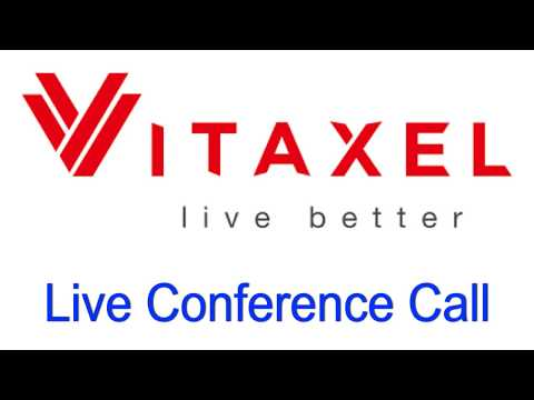 Vitaxel LIVE Conference Call