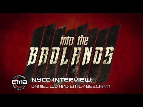"""Phoenix  interviews """"Into The Badlands"""" Daniel Wu and Emily Beecham at New York Comic Con"""