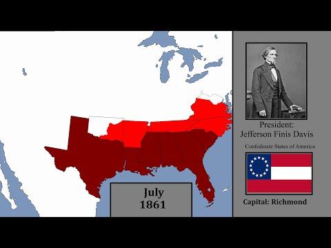 History of The Confederacy: Every month