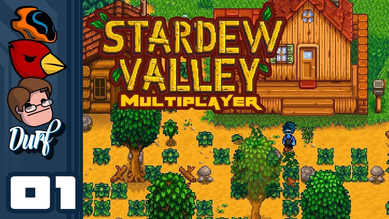 Let's Play Stardew Valley Multiplayer [v1 3 Beta] - PC Gameplay Part 1 -  Old McWander Had A Farm