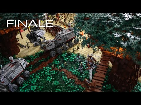Building Kashyyyk in LEGO - The FINALE