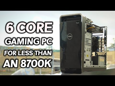 Build a 6 CORE GAMING PC for LESS than an i7-8700K!