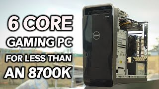 Build a 6 CORE GAMING PC for LESS than an i7-8700K! thumbnail