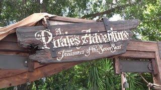 All 5 Maps! Interactive Pirates Adventure Game At Disney's Magic Kingdom!