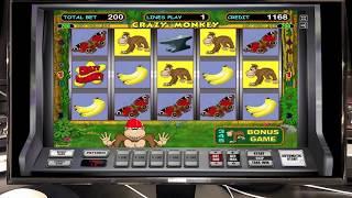 Игровой Автомат Crazy Monkey в Казино Вулкан! Занос не Большой И это Хорошо!