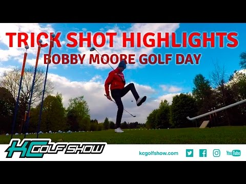 Bobby Moore Charity Golf Day | Trick Shot Highlights | KC Golf Show