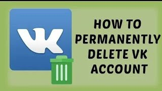 How to permanently delete vk account From Andoid/iso???SOLUTION