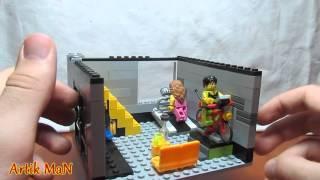 Обзор самодельной LEGO-постройки: Спортзал/LEGO GYM MOC REVIEW!