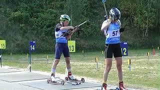 Биатлон. Чемпионат Украины на лыжеролерах в Чернигове