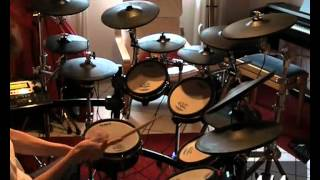 Dream Theater - The Dance of Eternity [Drum Cover] *with time signatures*