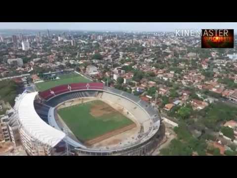 #LaNuevaolla estadio del club cerro porteño