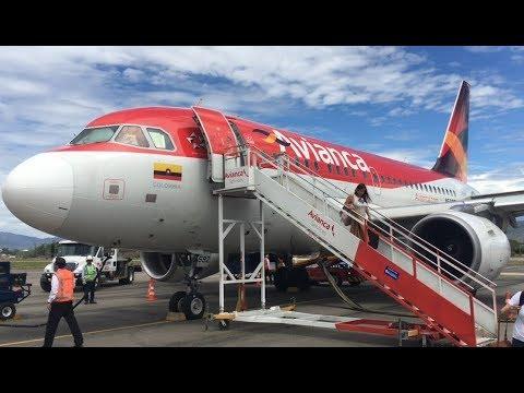 |TRIP REPORT| Avianca A-318 | BOGOTA - NEIVA | Babybus |HD|