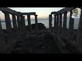 Moναδικά πλάνα  από τον Ναό του Ποσειδώνα στο Σούνιο (Βίντεο)