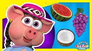 Doña Pancha y Las Frutas #3 | Aprende Colores y Números | ...