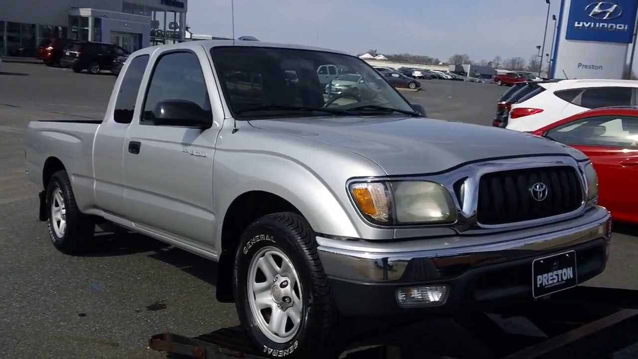 2004 Toyota Tacoma SR5 for sale EBAY WHOLESALE AUCTION - YouTube