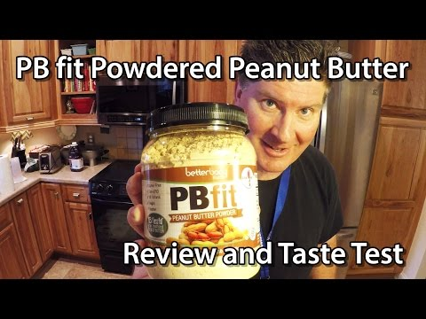 PB fit Powdered Peanut Butter Review and Taste Test