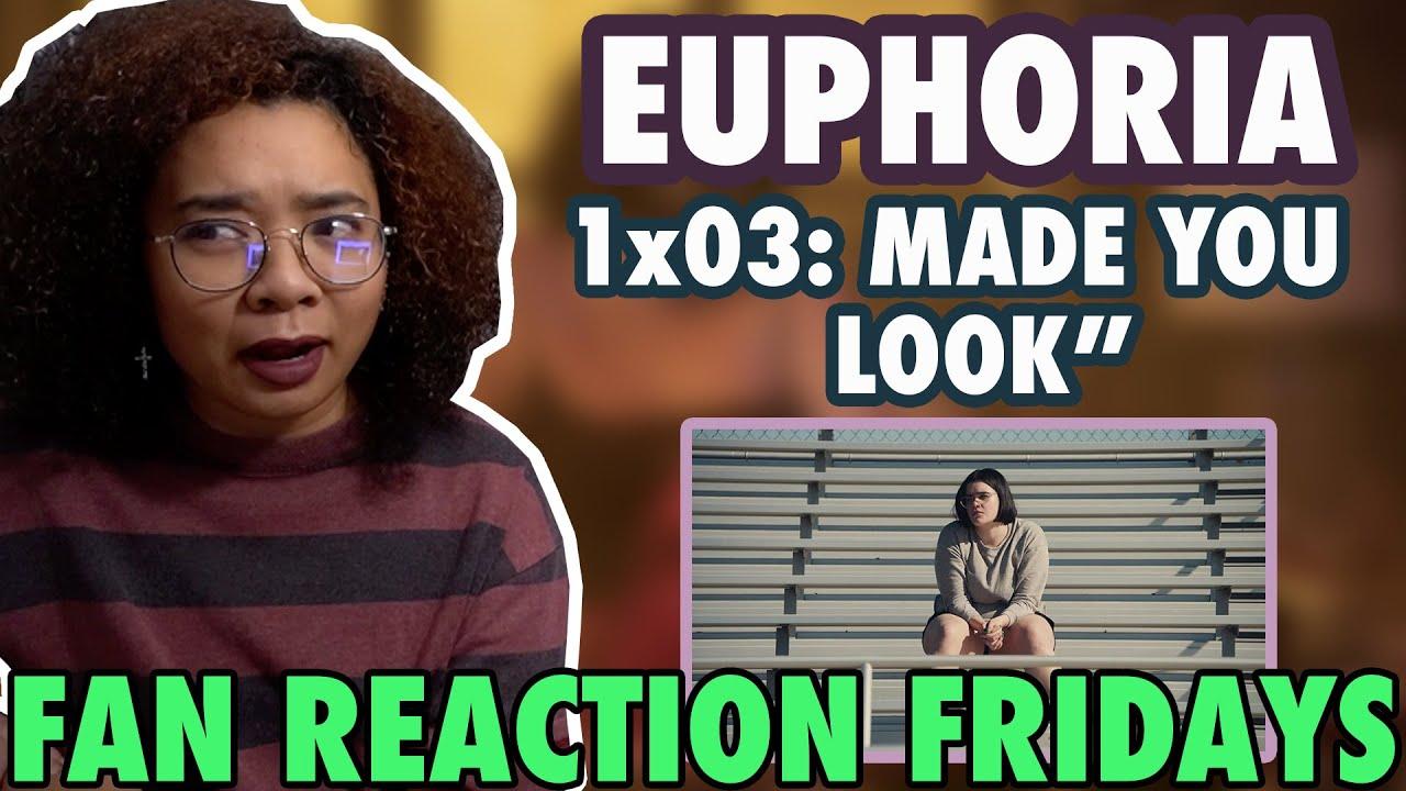 "Download EUPHORIA Season 1 Episode 3: ""Made You Look"" Reaction & Review | Fan Reaction Fridays"