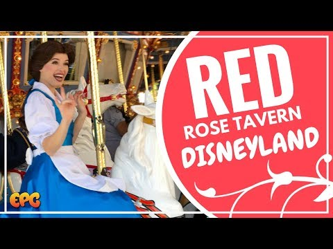 BEAUTY AND THE BEAST 2017 EMMA WATSON DISNEYLAND EXPERIENCE