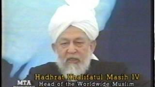 Jalsa Salana Germany 1998 - Address to Ladies by Hazrat Mirza Tahir Ahmad (rh)