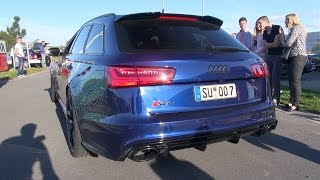 Audi RS6 Avant C7 w/ Loud Milltek Exhaust! Revs & Accelerations!