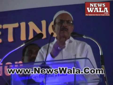 Jamaat e Islami Hind jalsa inaugural function at Wadi e Huda Hyderabad