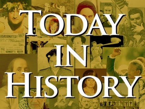 Today in History for November 23rd