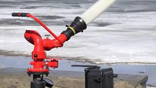 видео Ствол пожарный ручной, лафетный, перекрывной. Цена на пожарный ствол. Стволы пожарные продажа от производителей. Ручные пожарные стволы, пожарная техника