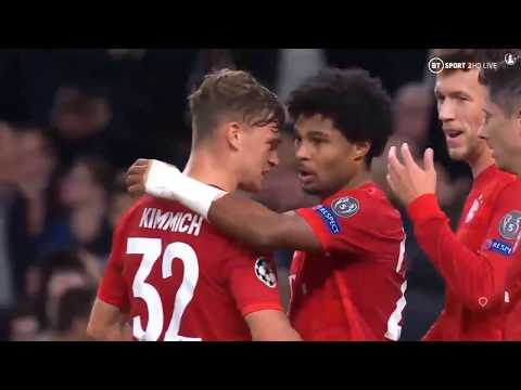 Tottenham Hotspur Vs Bayern Munchen 2 – 7 Goals And Highlights Uefa Champions League 2019 /2020