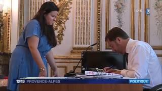 France 3 Provence Alpes - Une journée avec Christophe Castaner - 22/06/2017