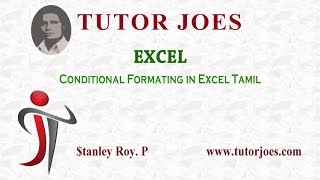 conditional formating in excel tamil