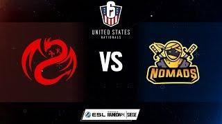 Rainbow Six US Nationals - SiNisterGG vs. Nomads - Week 4