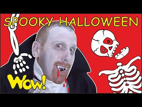 Spooky Halloween Songs and Stories for Kids from Steve and Maggie | Free Speaking Wow English TV