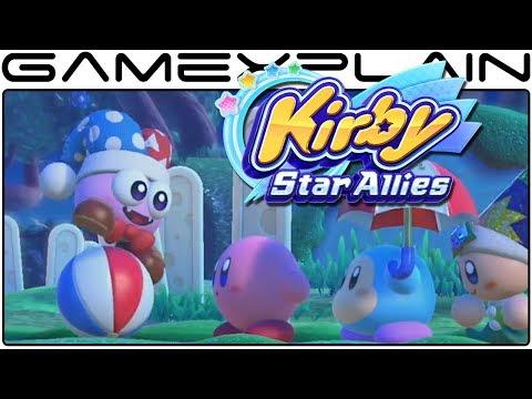 Kirby Star Allies - Marx Gameplay Trailer