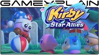 Kirby Star Allies - Marx Gameplay Trailer