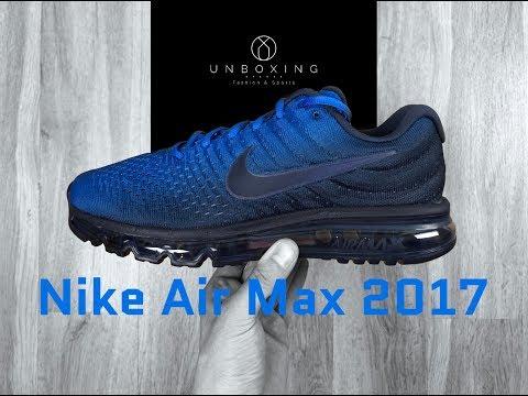 Nike Air Max 2017 'obsidian/obsidian