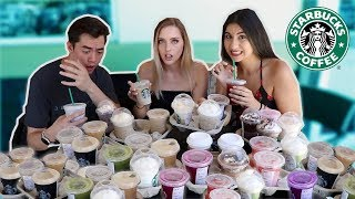 I Ordered EVERY DRINK on the STARBUCKS Menu (I'm broke!)
