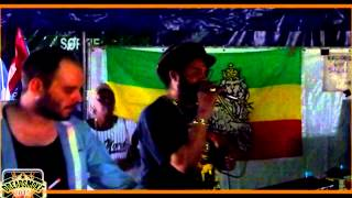 KINGSTEP SOUNDSYSTEM ft mc trooper -- zulu chant dubwise pt7 @ reggaebus #5 / 7-8-2015