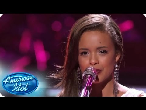Aubrey Cleland Performs Big Girls Dont Cry  AMERICAN IDOL SEASON 12