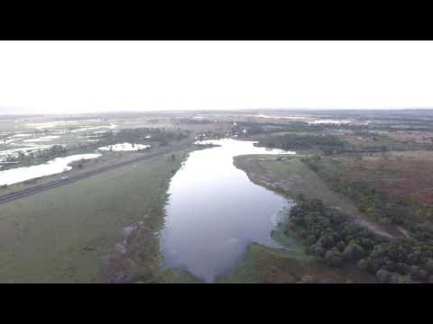 Early morning flight over Gracemere Queensland
