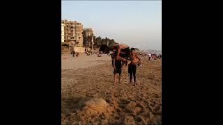 Double backflip progressions on juhu beach /Sagar pimparkar /Sagar parkour