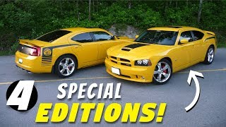 4 Special & Limited Edition Dodge Charger Models - RARE!