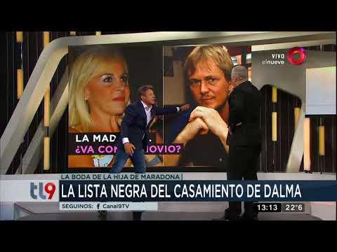 La lista negra del casamiento de Dalma Maradona - YouTube