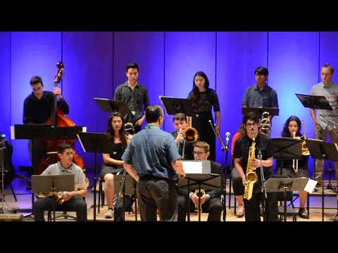Idyllwild Arts Camp Big Band Jazz 2018