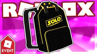 [EVENT] How to get the SOLO BRANDED BACKPACK | Roblox Elemental Battlegrounds