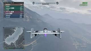 GTA 5 jet kill