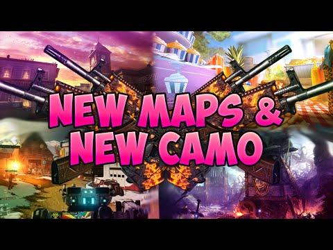 BO3 Salvation DLC - New Maps & New Lucid Camo