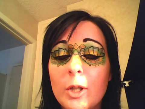Dragon Scale Halloween Makeup Youtube