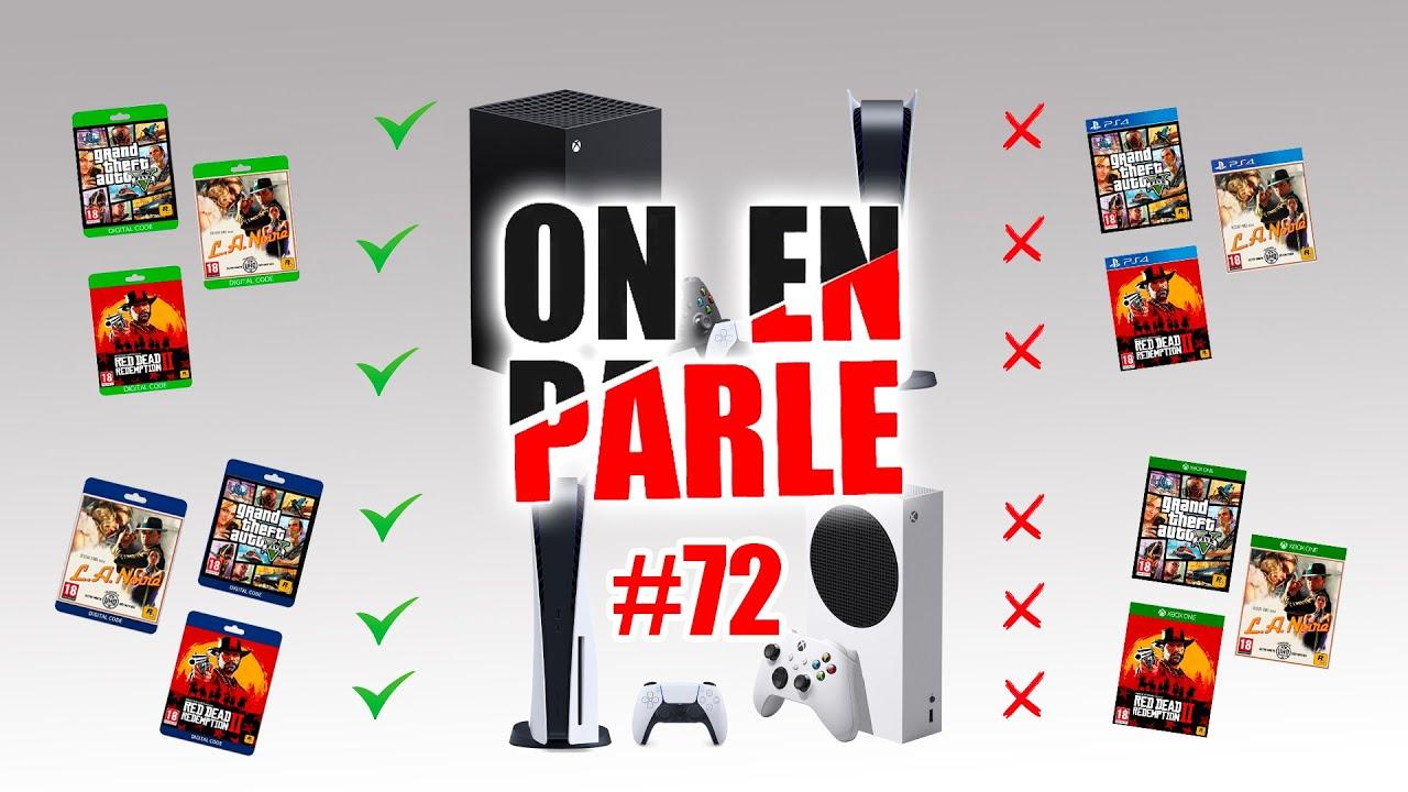 JEUX PHYSIQUES / DIGITAL : LESQUELS FONCTIONNERONT SUR PS5 ET XBOX SERIES X / SERIES S ?